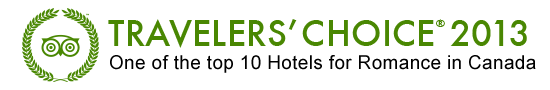 Top 10 Hotel for Romance in Canada